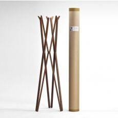 Treee coatrack - Appendiabiti moderno in legno massello, con struttura a fisarmonica