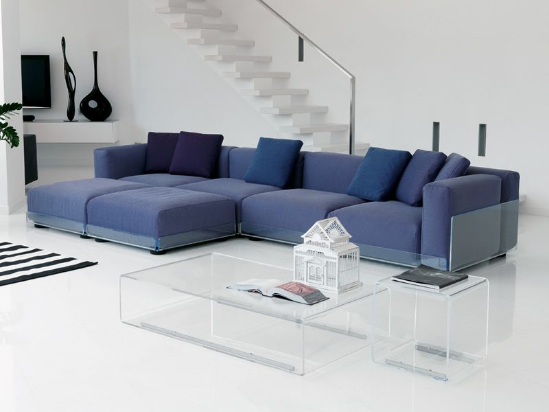asami 4p 4 sitzer sofa colico aus methacrylat auch f r. Black Bedroom Furniture Sets. Home Design Ideas