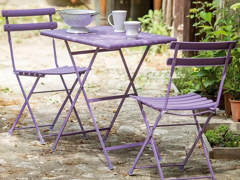 Arc en ciel 314 sedia emu in metallo per esterno - Emu tavoli da giardino ...