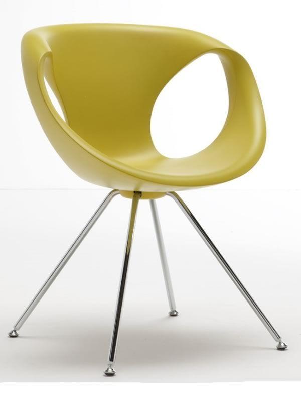 up chair designer stuhl tonon aus metall und polyurethan. Black Bedroom Furniture Sets. Home Design Ideas