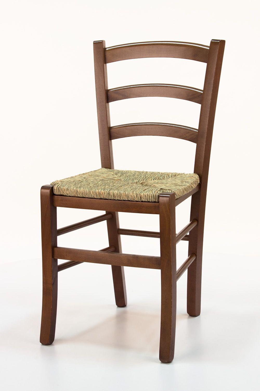 7660ba6d8 110 - Silla rústica en madera, disponible en varios colores, con asiento en  madera, paja o distintos tapizados | Sediarreda.com
