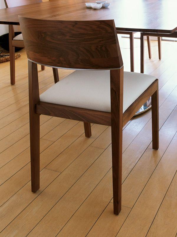 tendence design stuhl mit armlehnen von tonon gepolstertes holz verschiedene farben sediarreda. Black Bedroom Furniture Sets. Home Design Ideas