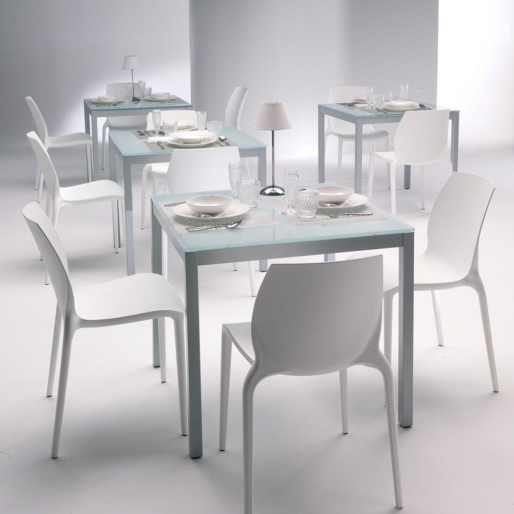 Hidra chaise empilable de bontempi casa en polypropyl ne - Chaise en polypropylene ...