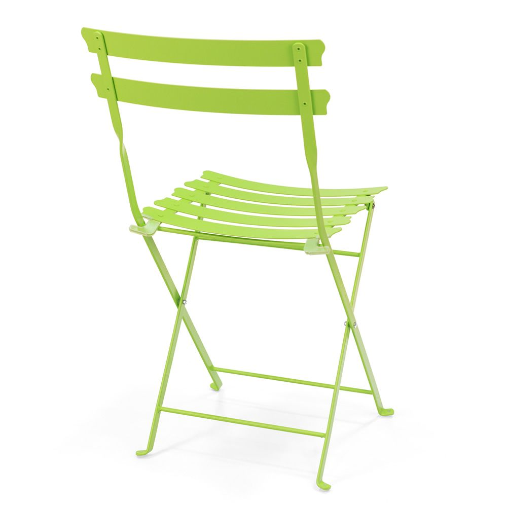 Pretty chaise pliante pour jardin en m tal diff rentes for Chaise en couleur