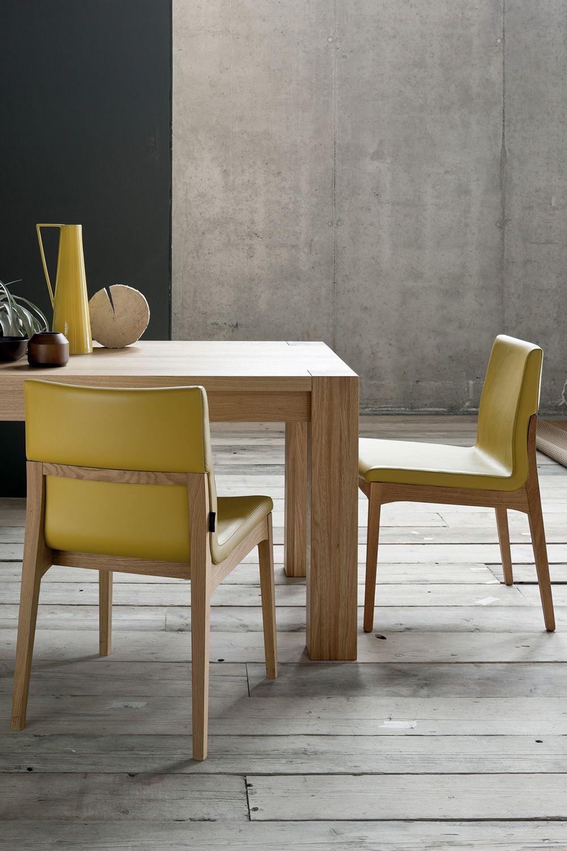 Arista tavolo moderno in legno allungabile disponibile for Tavolo eclipse legno di ozzio design