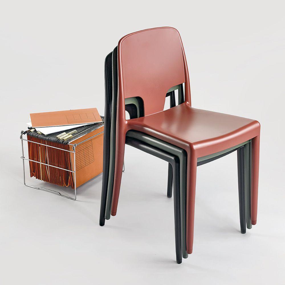 Margot pop sedia infiniti in polipropilene impilabile anche per esterno - Sedia polipropilene impilabile ...
