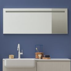 Riga - Rectangular mirror with LED light, available in several dimensions
