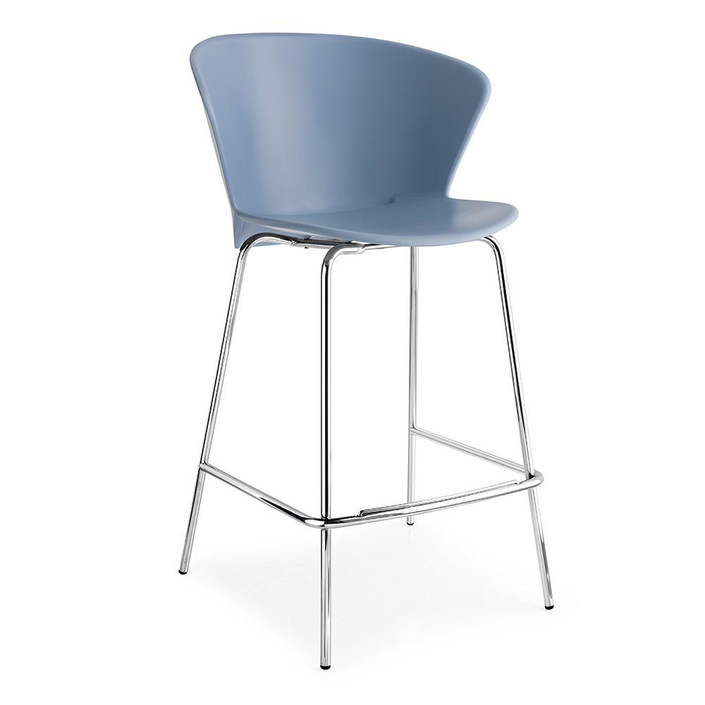 cs1817 bahia tabouret de bar en m tal assise en polypropyl ne hauteur assise 65 ou 81 cm. Black Bedroom Furniture Sets. Home Design Ideas