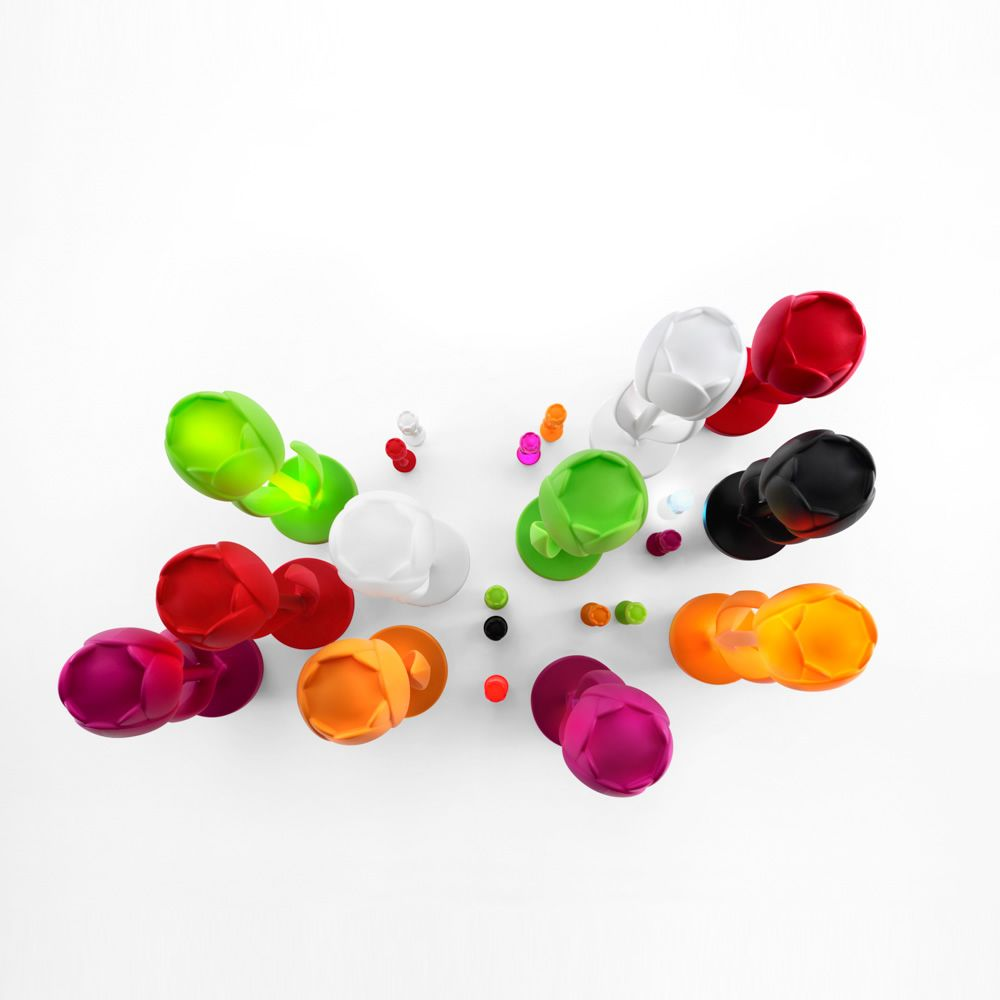 Tulip t objet d co design en technopolym re disponible for Objet deco couleur