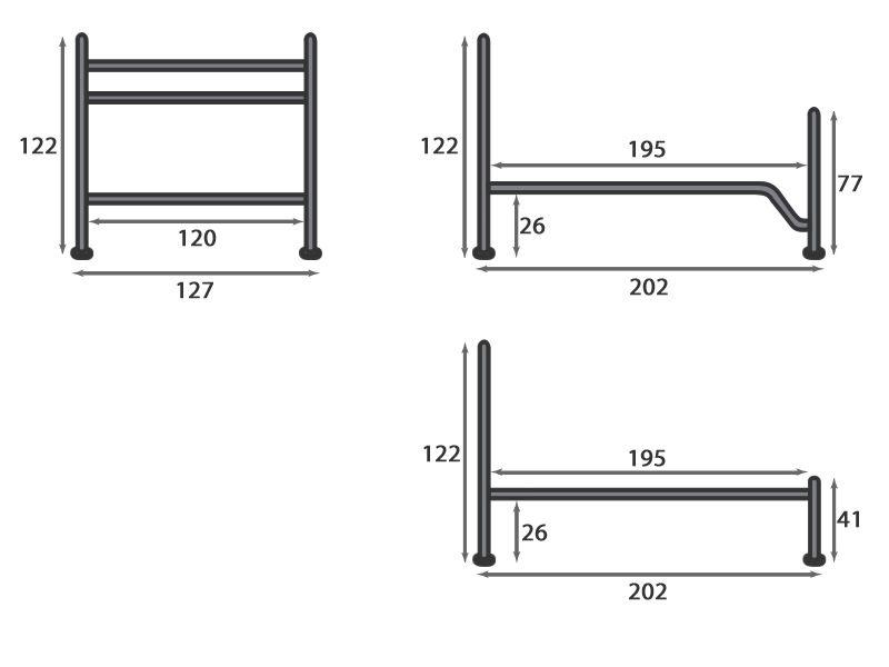 Incanto m lit une place et demi en fer disponible en diff rentes finitions et dimensions - Tete de lit hauteur cm ...