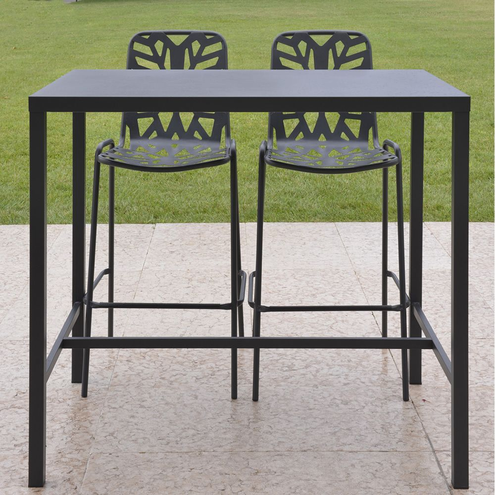 table haute exterieur. Black Bedroom Furniture Sets. Home Design Ideas
