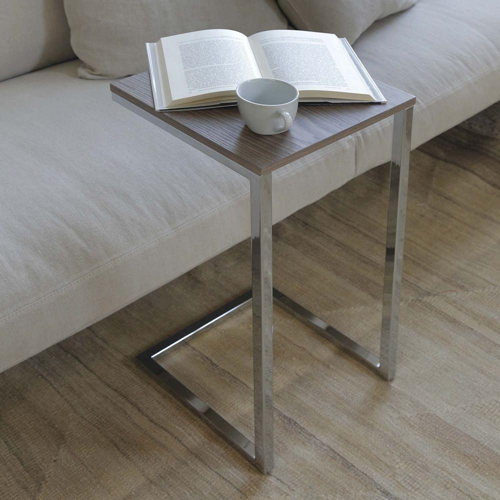 tower wood petite table d 39 appoint bout de canap de. Black Bedroom Furniture Sets. Home Design Ideas