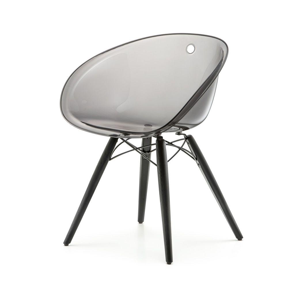 Gliss 904: Design-Sessel Pedrali aus Holz und Kunststoff ...