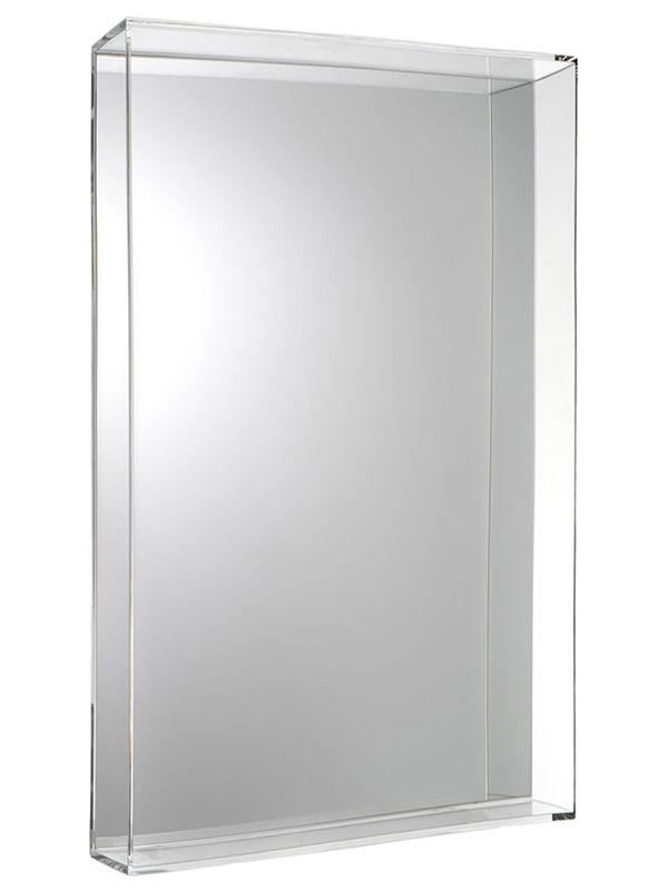 Only me l miroir kartell de design avec cadre en polym re for Miroir kartell ghost
