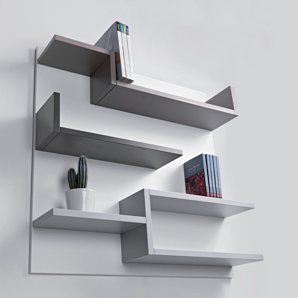 Myshelf Biblioth Que Murale En Lamin Cologique Sediarreda # Bibliotheque Composition