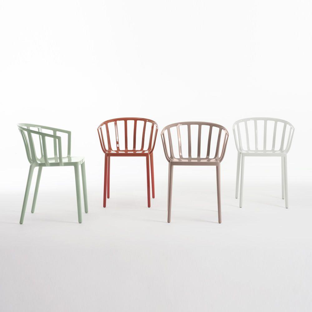 Venice sedia kartell di design in policarbonato for Sedie di designer