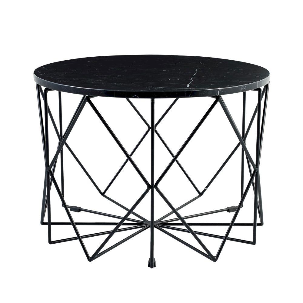 vitro beistelltisch aus metall mit platte aus glas oder. Black Bedroom Furniture Sets. Home Design Ideas