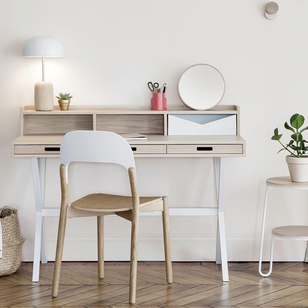 Nina lampada da tavolo in legno e metallo led sediarreda - Lampada da tavolo legno ...