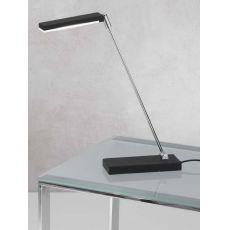 FA3148DT - Lampada da tavolo in metallo, diversi colori, illuminazione LED