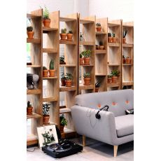 Mozaik - Ethnicraft bookcase made of wood, different finishes available