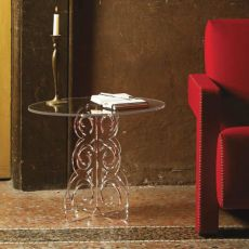 Baricco - Coffee table in methacrylate, available in several colours
