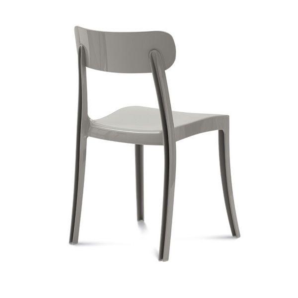 New retr sedia impilabile domitalia in policarbonato - Sabbia per giardino ...