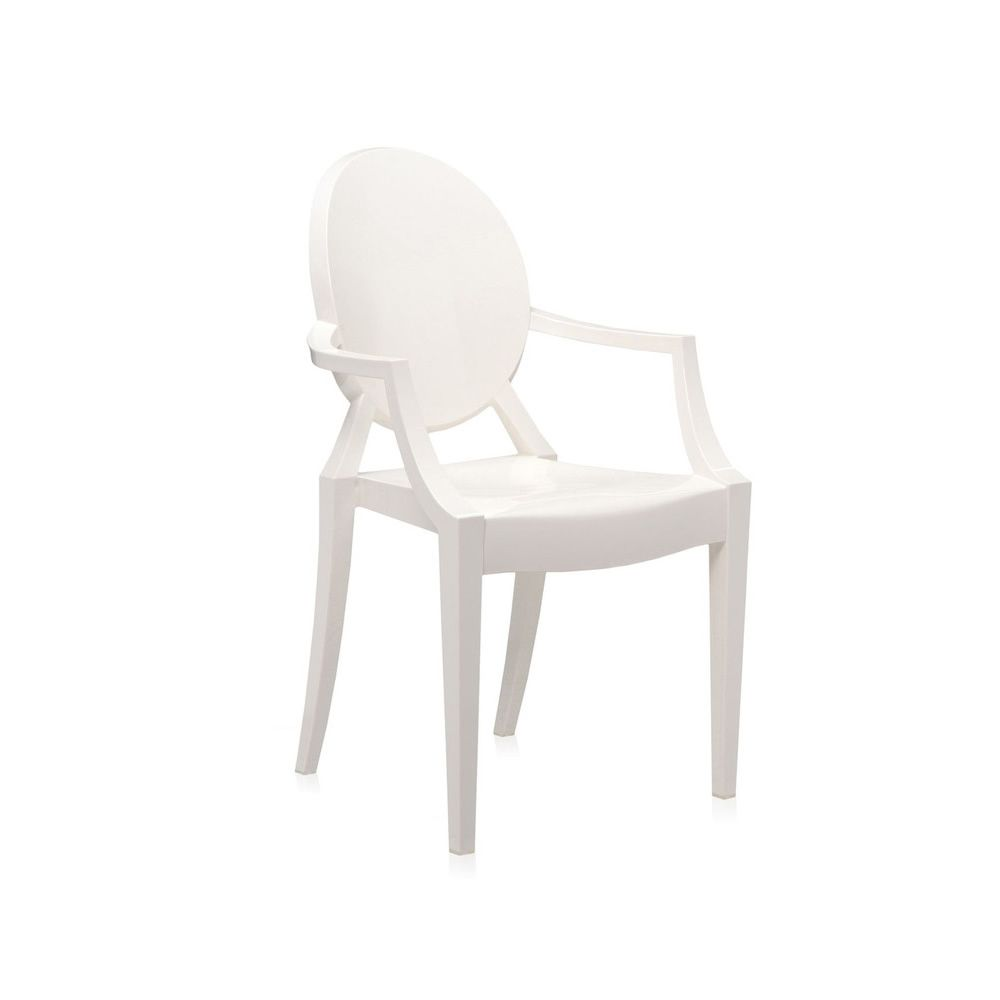 Lou Lou Ghost: Kartell design chair for children, transparent or ...