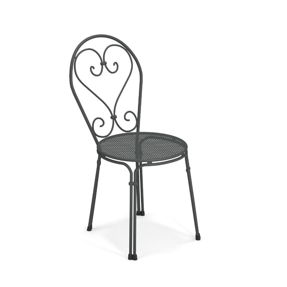 pigalle 909 staperlbarer metallstuhl emu f r garten. Black Bedroom Furniture Sets. Home Design Ideas