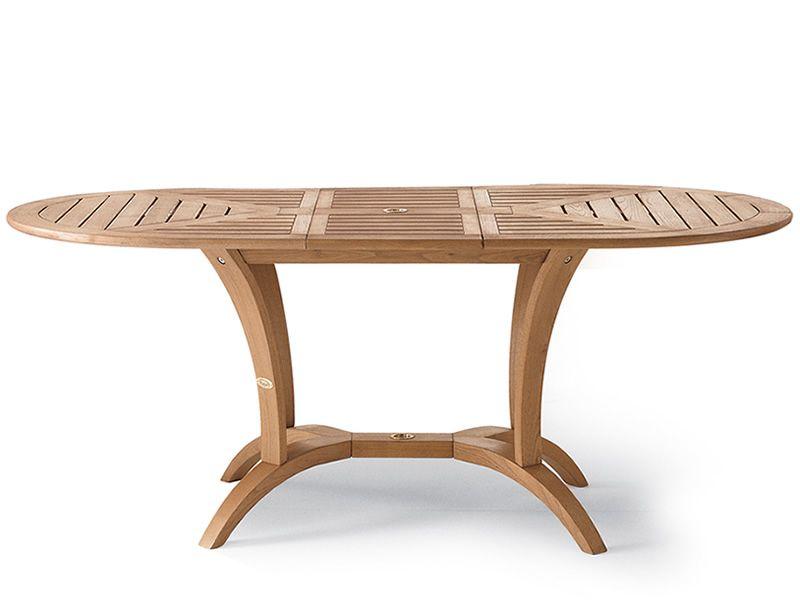 Gartentisch holz verl ngerbar for Design gartentisch
