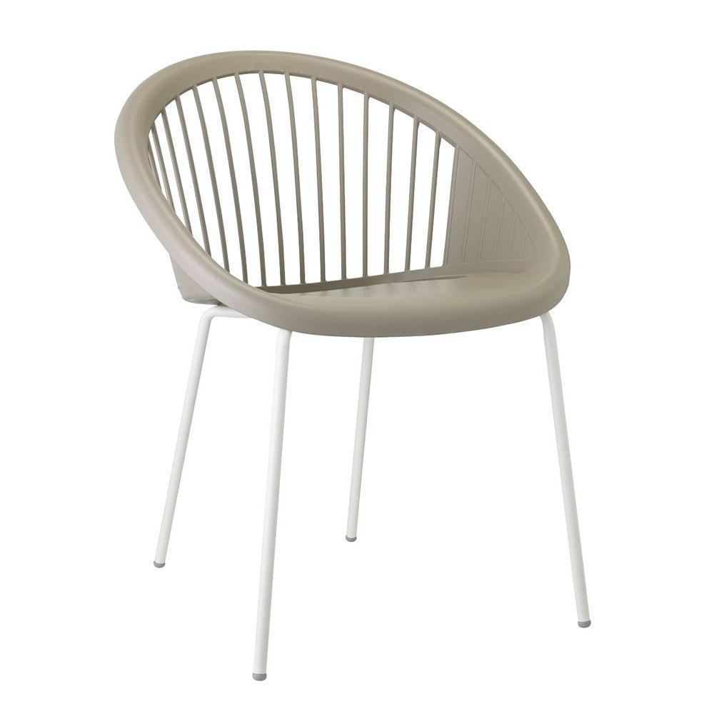 giulia 2684 sessel aus metall und technopolymer stapelbar in verschiedenen farben verf gbar. Black Bedroom Furniture Sets. Home Design Ideas