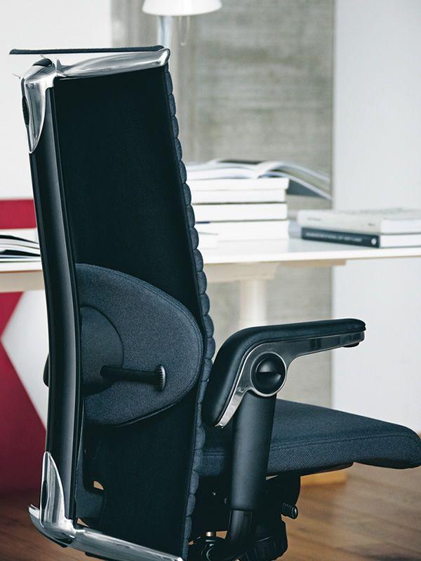 H09 excellence chaise de bureau ergonomique h g avec - Coussin ergonomique pour chaise de bureau ...