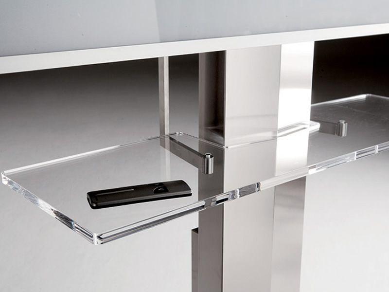 uno meuble porte tv plasma lcd avec r glage lectrique de