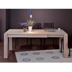 VR60 - Extendable wooden table, different finishes and sizes available
