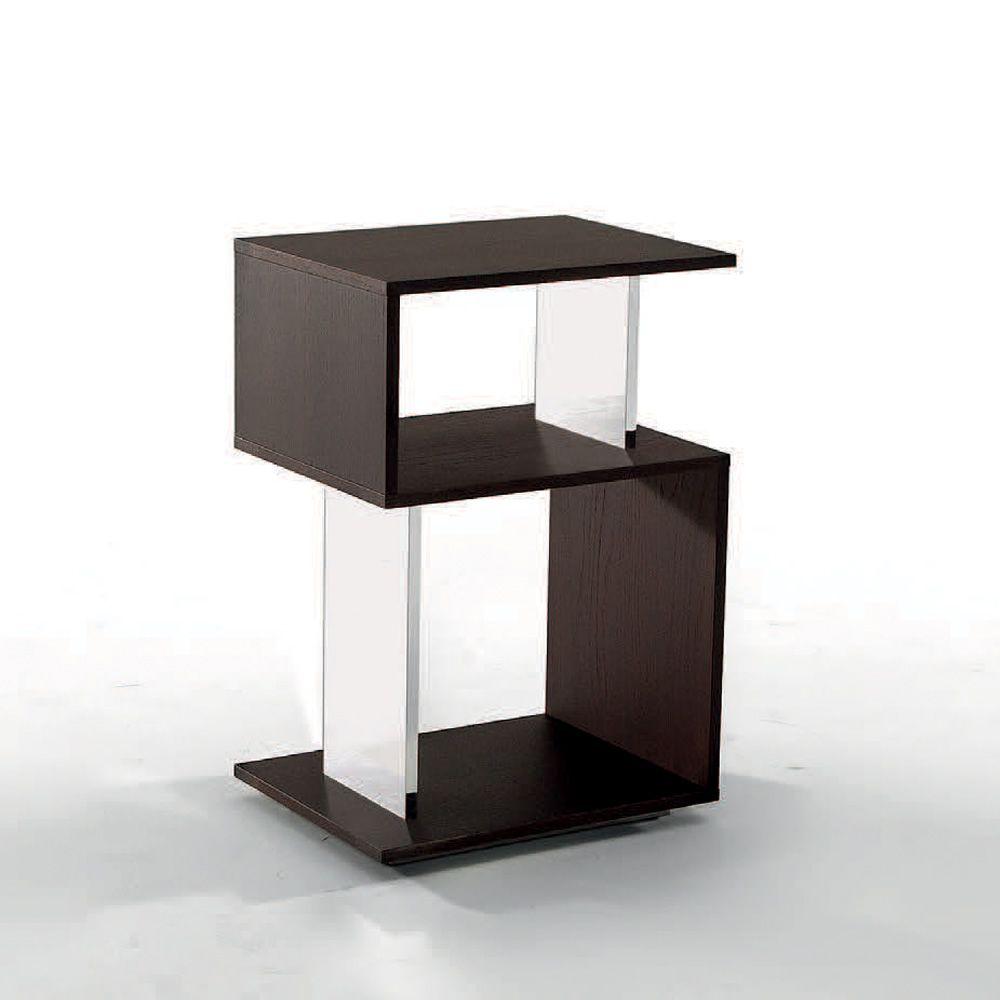 airone 6272 drehbarer beistelltisch tonin casa aus holz in verschiedenen ausf hrungen. Black Bedroom Furniture Sets. Home Design Ideas