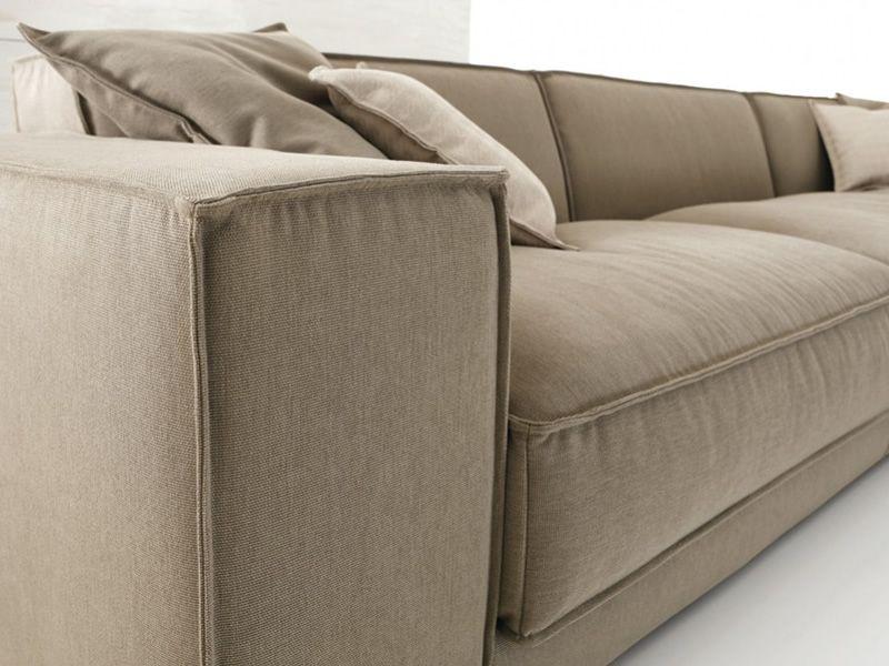 Portland chaise divano 2 3 o 3 posti xl con chaise longue e schienale regolabile in altezza - Altezza seduta divano ...