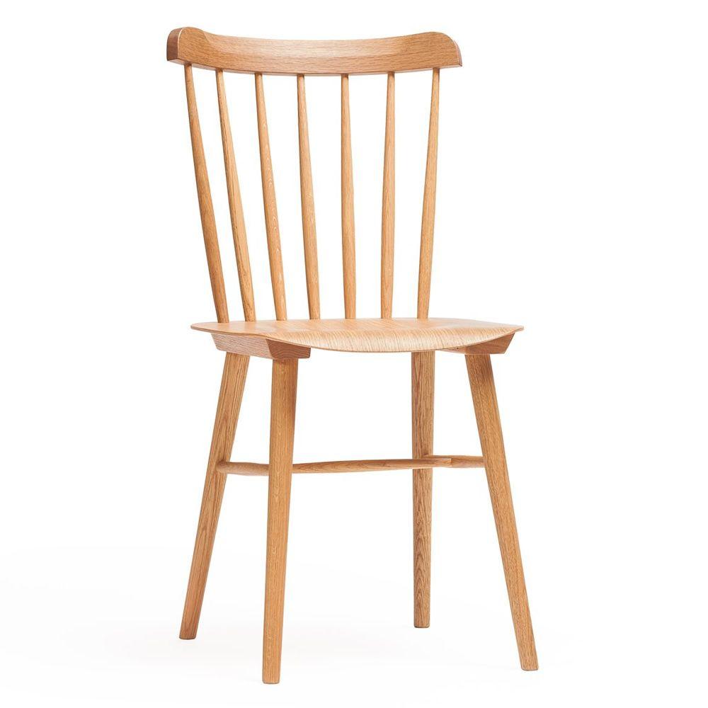 Ironica sedia ton in legno di rovere sediarreda - Sedia legno design ...