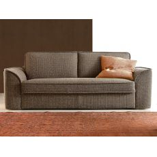 Calabria - Sofa bed, 2, 3 or 3XL seater, with completely removable fabric or imitation leather covering