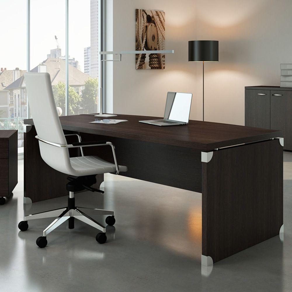 X time work 05 scrivania da ufficio in laminato for Mobili ufficio wenge