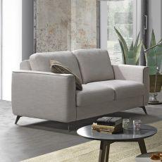 Fiordaliso - Divano a 2, 3 posti o 3 posti XL, completamente sfoderabile, diversi rivestimenti e colori disponibili, anche divano letto