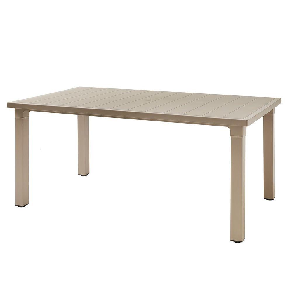 ercole fester tisch aus technopolymer auch f r den. Black Bedroom Furniture Sets. Home Design Ideas