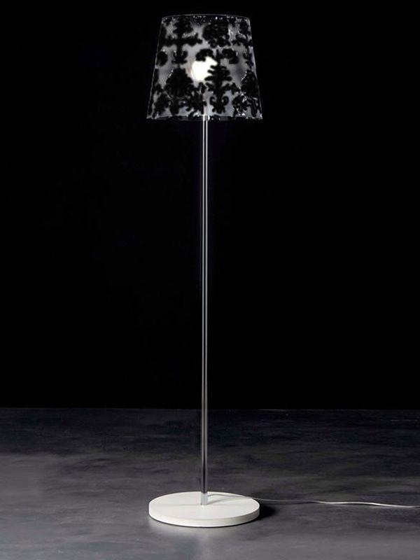 Babette dt lampada da terra moderna in policarbonato for Lampada da terra moderna