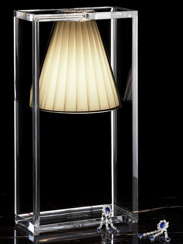Light Air Kartell Table Lamp Made Of Technopolymer