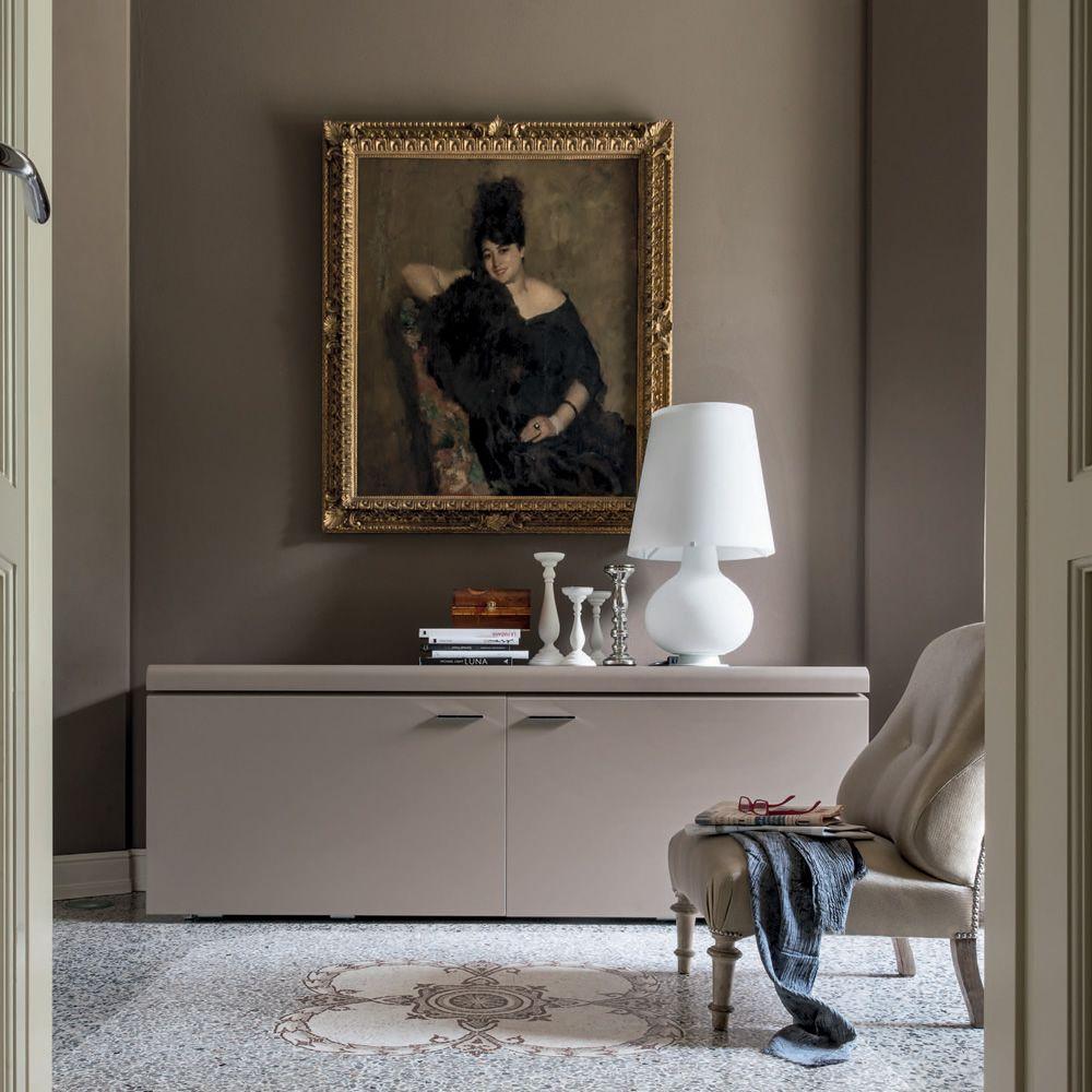 Goya 6107 Buffet Tonin Casa En Bois Laqu E Avec Portes 220 X 55  # Meuble Tv Goya