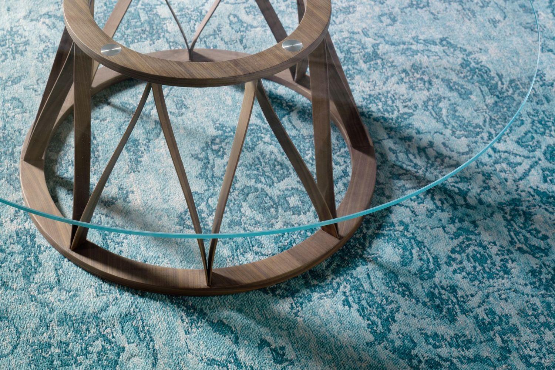 acco runder beistelltisch miniforms aus holz und metall sediarreda. Black Bedroom Furniture Sets. Home Design Ideas