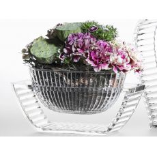 U Shine - Vaso-centrotavola Kartell di design, in polimetilmetacrilato, disponibile in diversi colori, anche per esterno