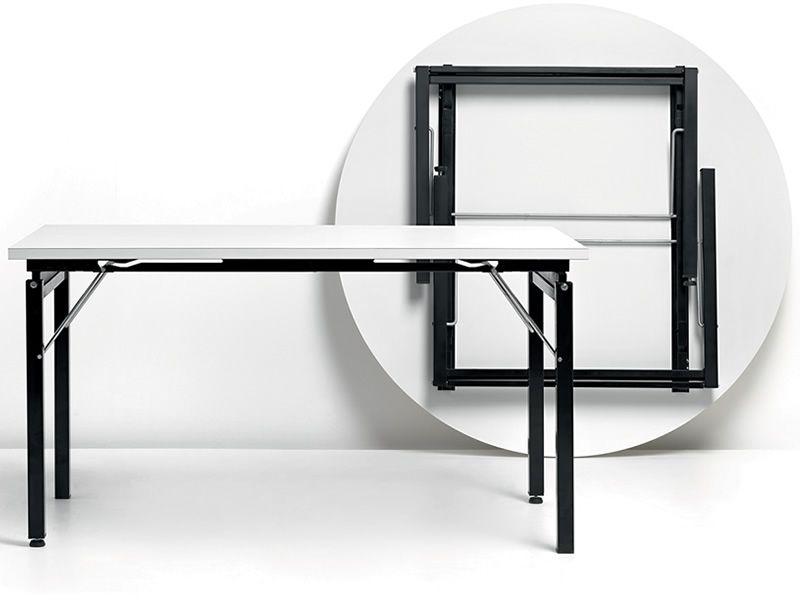 p greco pour bars et restaurants pi tement de table rabattable en m tal pour plateaux ronds ou. Black Bedroom Furniture Sets. Home Design Ideas