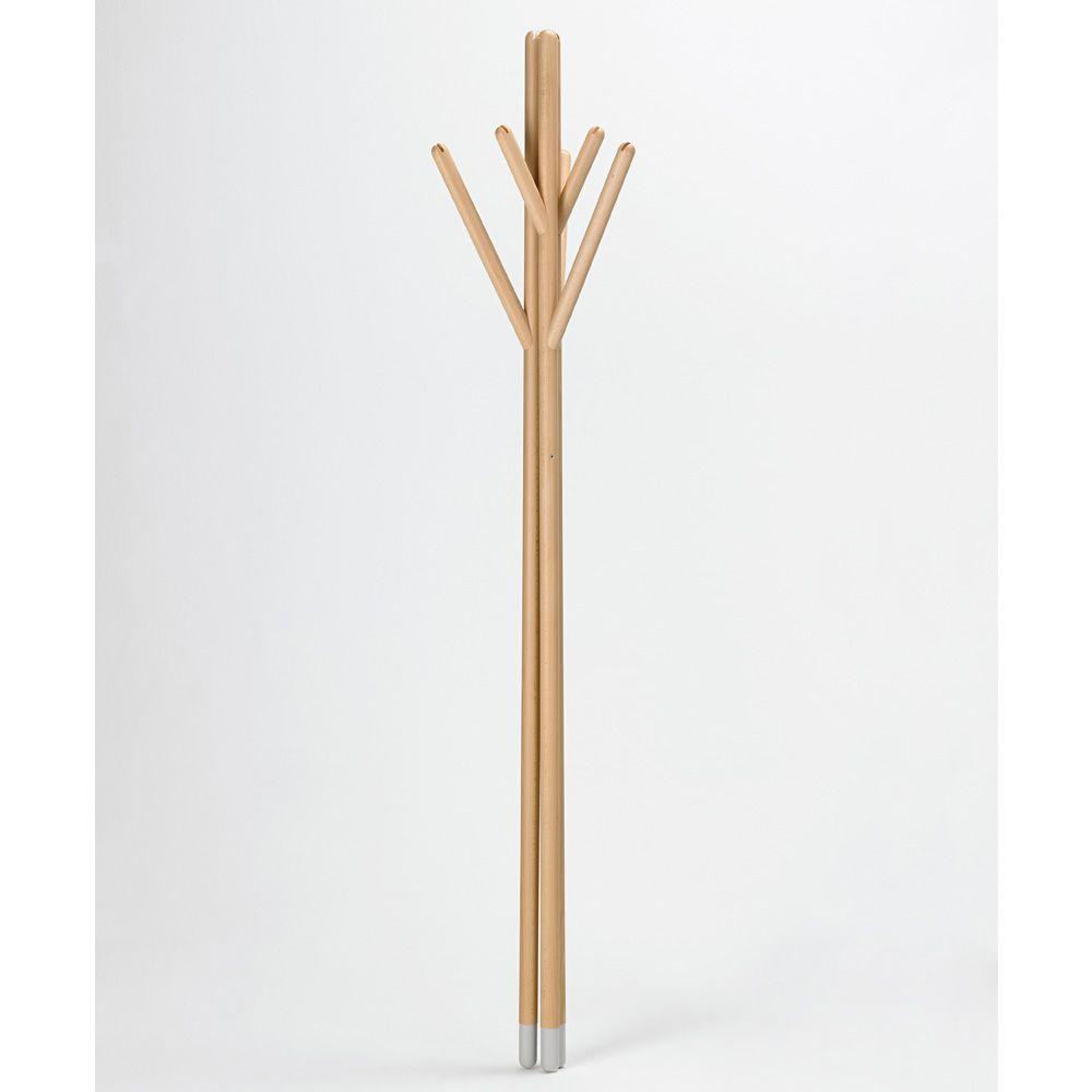 Stick: Designer Kleiderständer Valsecchi aus Holz, in ...