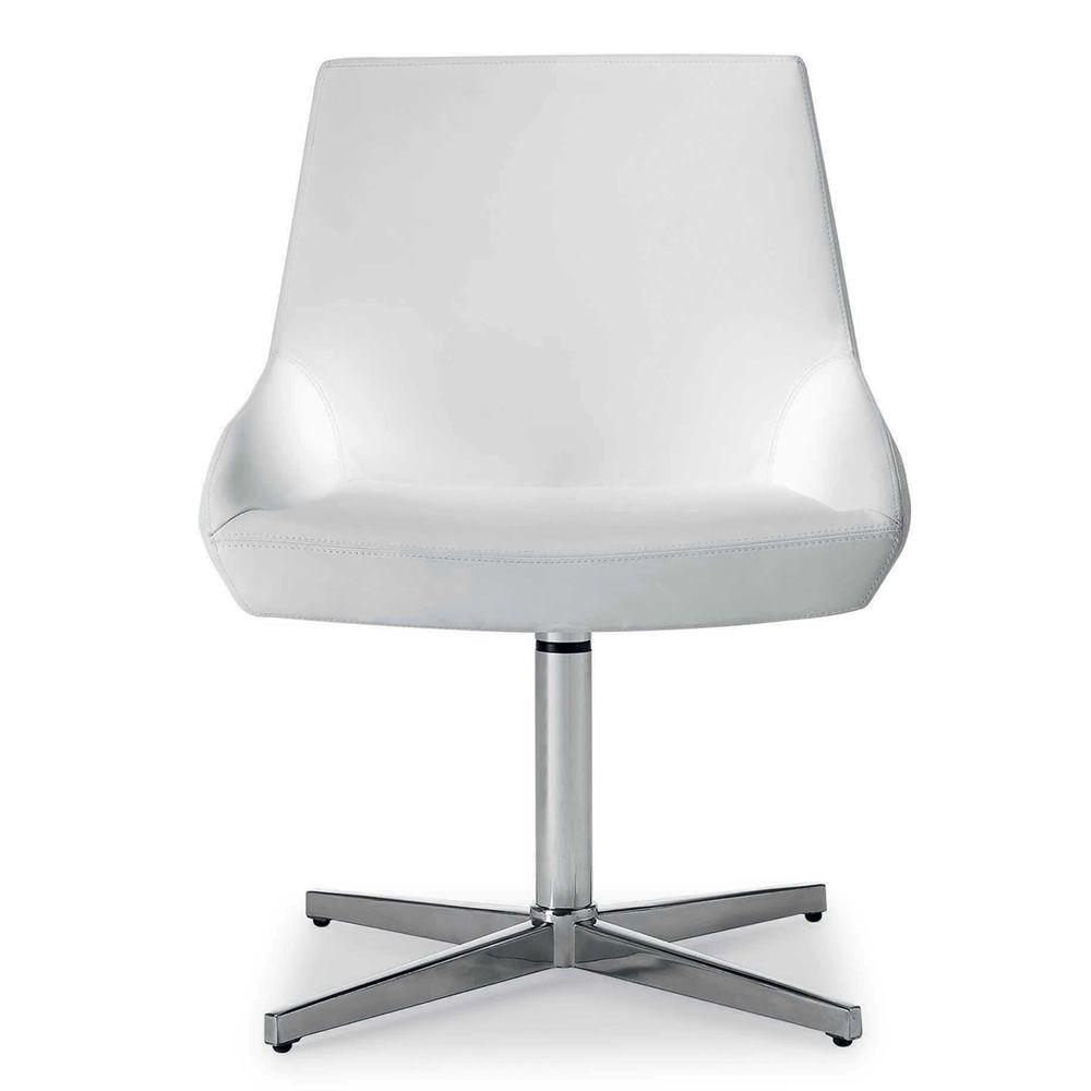 crystal fauteuil design de tonon pivotant en simili. Black Bedroom Furniture Sets. Home Design Ideas