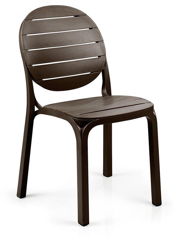 Erica pour bars et restaurants chaise en polypropyl ne empilable en diff rentes couleurs - Chaise jardin couleur ...