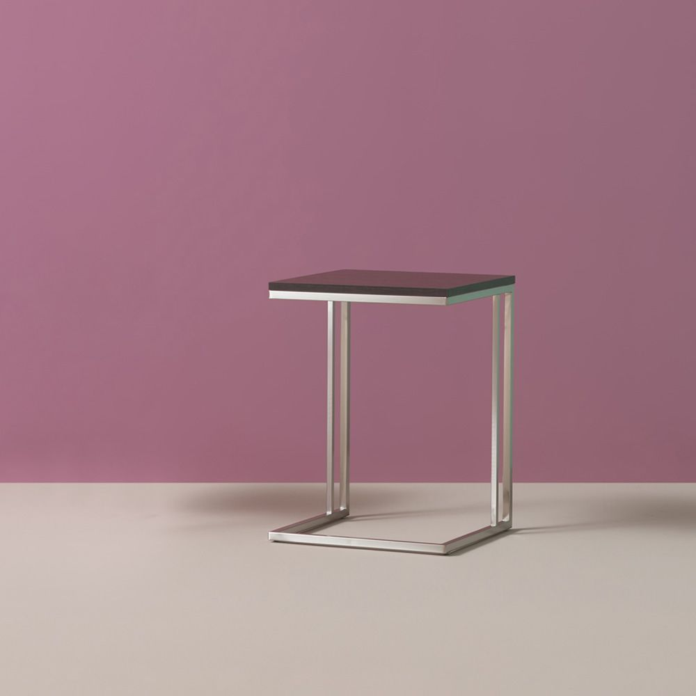 side table beistelltisch pedrali aus metall mit laminatplatte sediarreda. Black Bedroom Furniture Sets. Home Design Ideas
